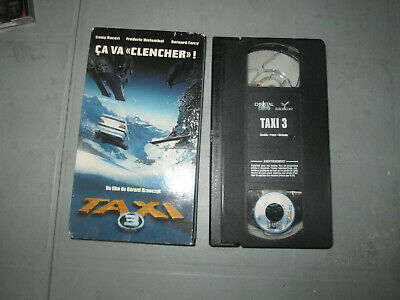 Taxi 3 (VHS)(French)  Tested Samy Naceri