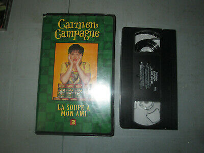 Carmen Campagne -3- La Soupe A Mon Ami (VHS)(French)  Tested Clamshell