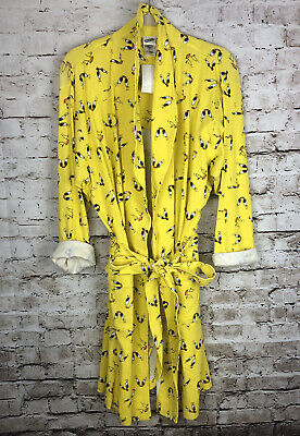 Tweety Bird Bath Robe, NWT Looney Tunes - Large Xlarge