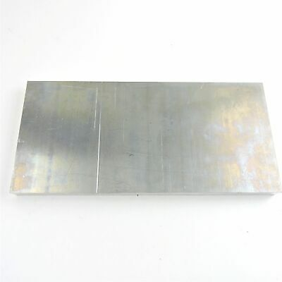 "1"" thick  Aluminum 6061 PLATE  5.25"" x 11"" Long  sku 137205"