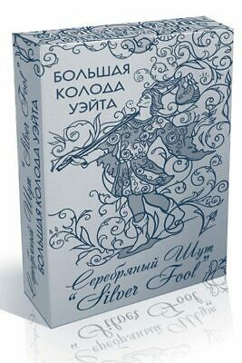 Russian Tarot Waite's big deck Silver Fool 78 Cards Collection Souvenir Deluxe