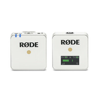 Rode Wireless GO White Compact Wireless Microphone System (2.4 GHz)