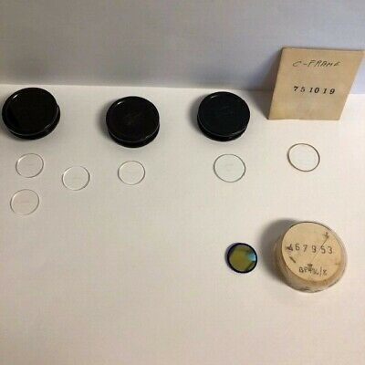 7 Each Zeiss Eyepiece  Reticles For Microscope   21Mm & 23Mm