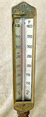 Antique / Vintage Moeller Industrial Thermometer 50 - 400°F STEAMPUNK!