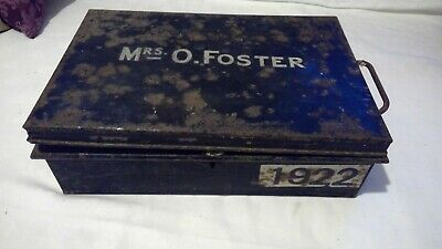 Vintage Small Metal Box - Metal Detector Finds - Isle of Wight