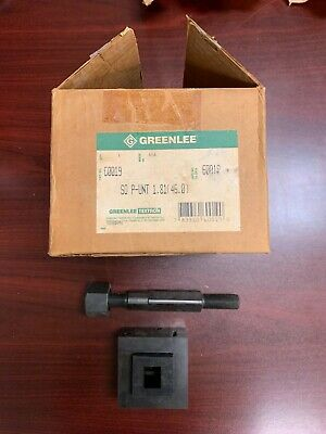 Greenlee 60019 Square Punch Unit