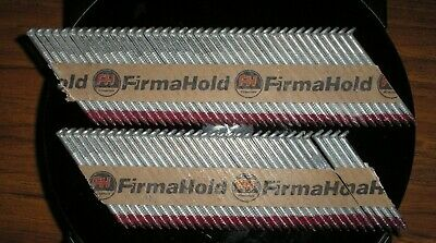 Firmahold 1st fix Framing Straight Shank Galvanised 50mm strip 74 Nail Gun nails