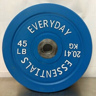 45 lb. Everyday Essentials Olympic Weight Plate Bumper Plate