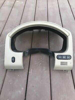 2004-2008 Ford F150 F250 Dash Bezel Leather Cluster Panel Trim Cover Tan