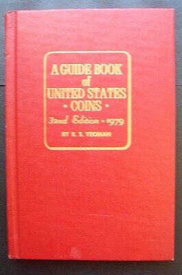 A  Guide Book of United States Coins 32th Edition 1979 By R.S. Yeoman  *NICE*