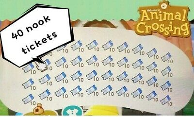 400 Animal crossing nook miles tickets