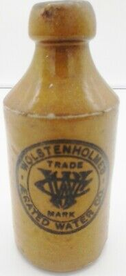 antique ginger beer bottle Wolstenholmes Aerated Water Co