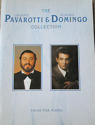 Pavarotti and Domingo Collection - Arias for Piano - Songbook.