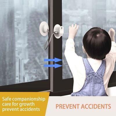 Security Baby Refrigerator Window Door Lock with Key for Child Proof Safety Lock