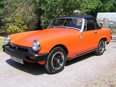 Mg Midget 1.5 Convertible Historic Vehicle Mot Exempt But Full Mot If Required