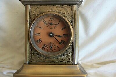 Antique Musical  Mantle clock  tune...... auld lang syne ......for repair