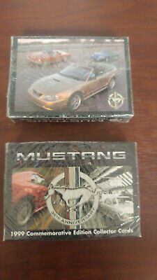 1999 Mustang Commemorative Edition Collector Cards  35th Anniversary Ford