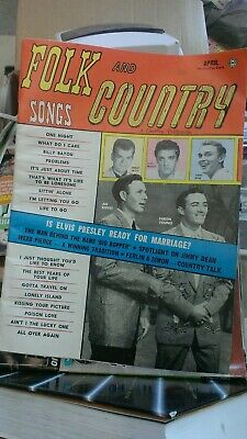 old 1959 country music magazine