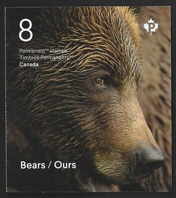Canada  Bk 728    BEARS / OURS       Brand New 2019 Booklet Issue