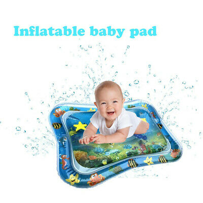 Inflatable Baby Water Mat Novelty Play Game Pad for Kids Infants Tummy Time