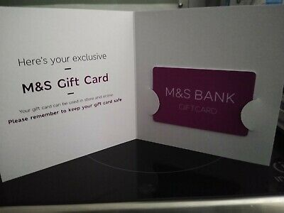 Marks and Spencer (M&S) £80 Gift Card