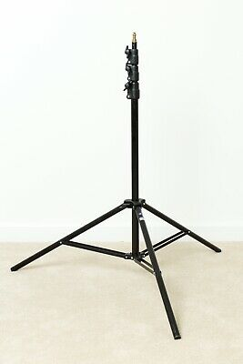 MANFROTTO 367 B BLACK LIGHT STAND -  9FT Maximum Height