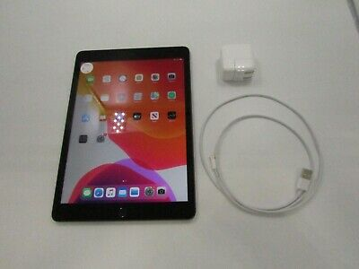 Apple iPad (7th Gen.) Gray A2197 N/A 32GB WIFI Great Condition -JE0804