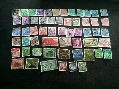 Old Stamps Germany X  - German Stamp Collection