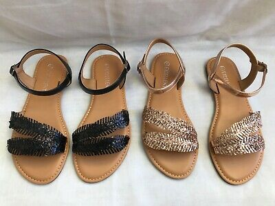 Women's Ladies Open Toe Flat Comfy Casual/Summer Holiday Evening Sandals