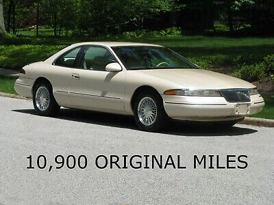 1995 Lincoln Mark Series  10,900 ORIGINAL MILES, 1-Family Owned, IVORY PEARL, Ivory LEATHER, LIKE NEW!!!
