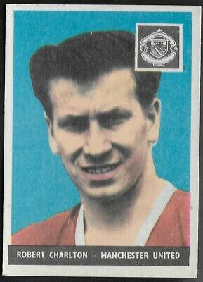 A&Bc-Football Without Planet (01-46) 1958-#03- Manchester United Bobby Charlton