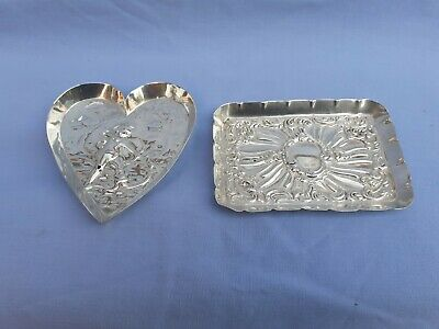 Solid Silver Pin Trays
