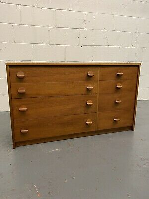 Mid Century Bank Of 8 Drawers By Symbol Furniture