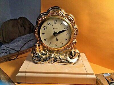 United clock - Cow boy Theme- Tested- Model #310 - tested Vintage- See Pics