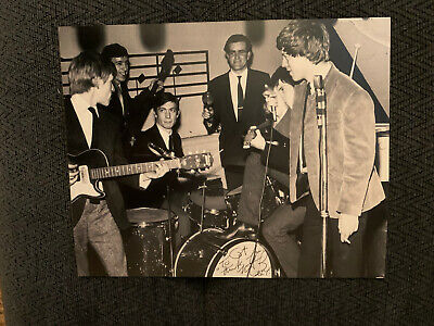 Charlie Watts Signed 8x10 Photo Autographed The Rolling Stones To Cat