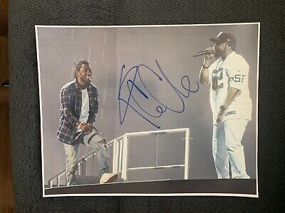Ice Cube Signed 11 X 14 Photo Autographed Rapper Actor NWA
