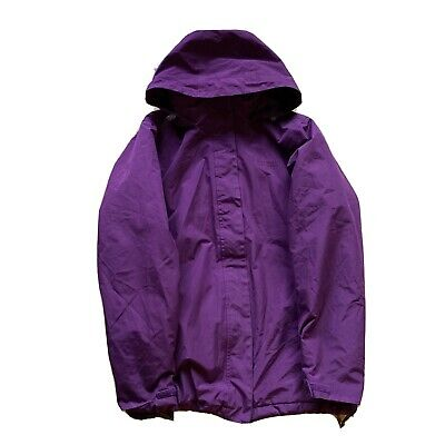 Regatta Hydrafort Purple Waterproof Hooded Padded Jacket  Size 14