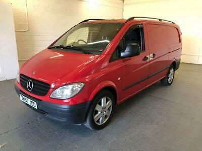 2007 Mercedes-Benz Vito 3.0 120CDI Long Panel Van 5dr Automatic Panel Van