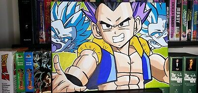 Gotenks super ghost kamikaze attack painting