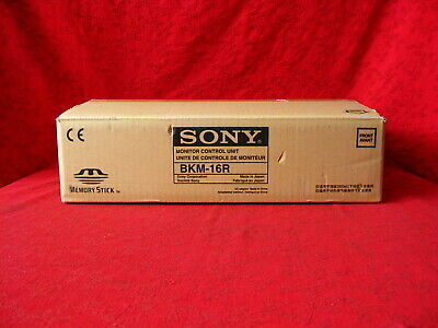 Sony Bkm-16R Monitor Control Unit