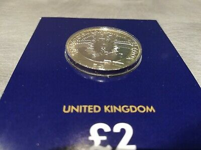 2019 Captain Cook £2 Voyage of Discovery Commemorative Coin - BU