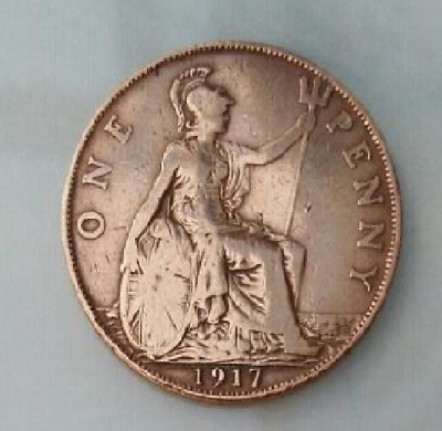 1917 To 1936 George V Penny / Pennies Choice Of Year / Date