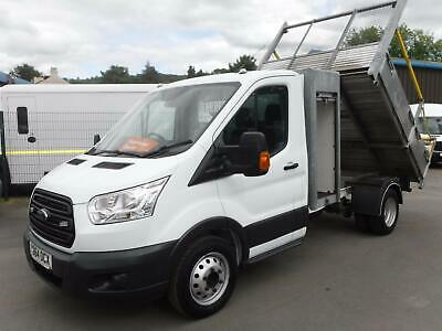 Ford Transit 2014 2.2TDCi 350 125ps Alloy Tipper With ToolBox *Air Con, 1 Owner*