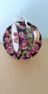 Royal Albert Provincial Flowers Cup And Saucer Pitcher Plant