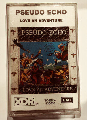 PSEUDO ECHO LOVE AN ADVENTURE   Album Cassette Tape EMI Australian