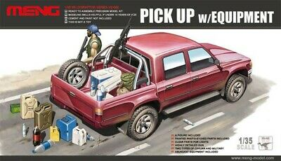 Maquette Meng 1/35 Pick Up
