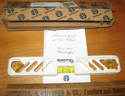 Vintage Advertiser WINTERFIX Level w/Box from New Holland Dealer Good Condition