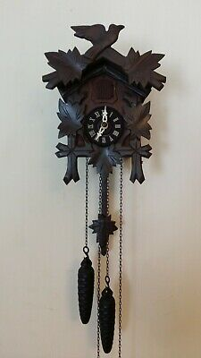 1960'S Vintage German Black Forest 30 Hour Cuckoo Clock - Striking