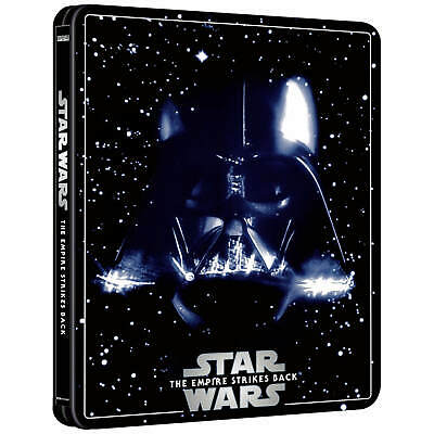 Star Wars épisode V : L'Empire contre Attaque Steelbook blu-ray 4k Zavvi NEUF