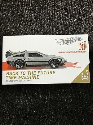 Hot Wheels ID Back To The Future Delaorean